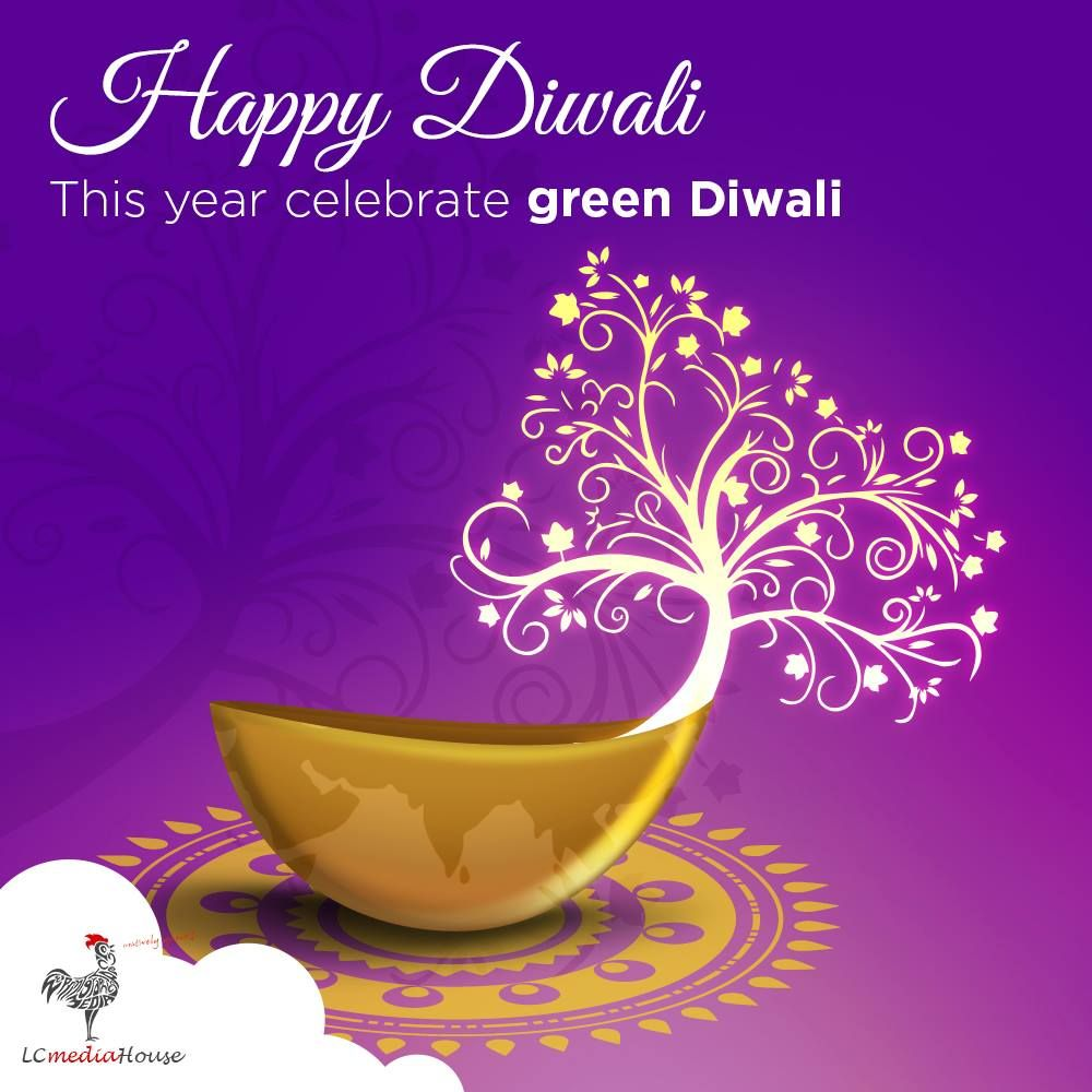 Team LCmediaHouse wishes you a Happy Green Diwali ! We