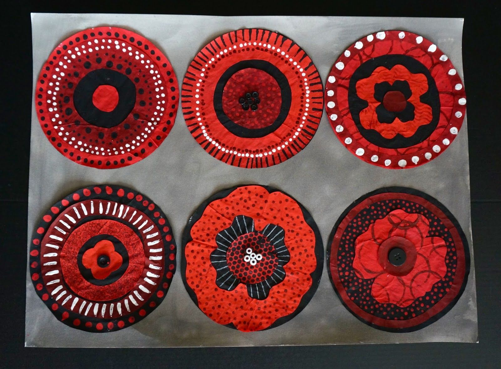 This Year S Remembrance Day Art Project Is The Result Of 2 Main Inspirations Project Runway S