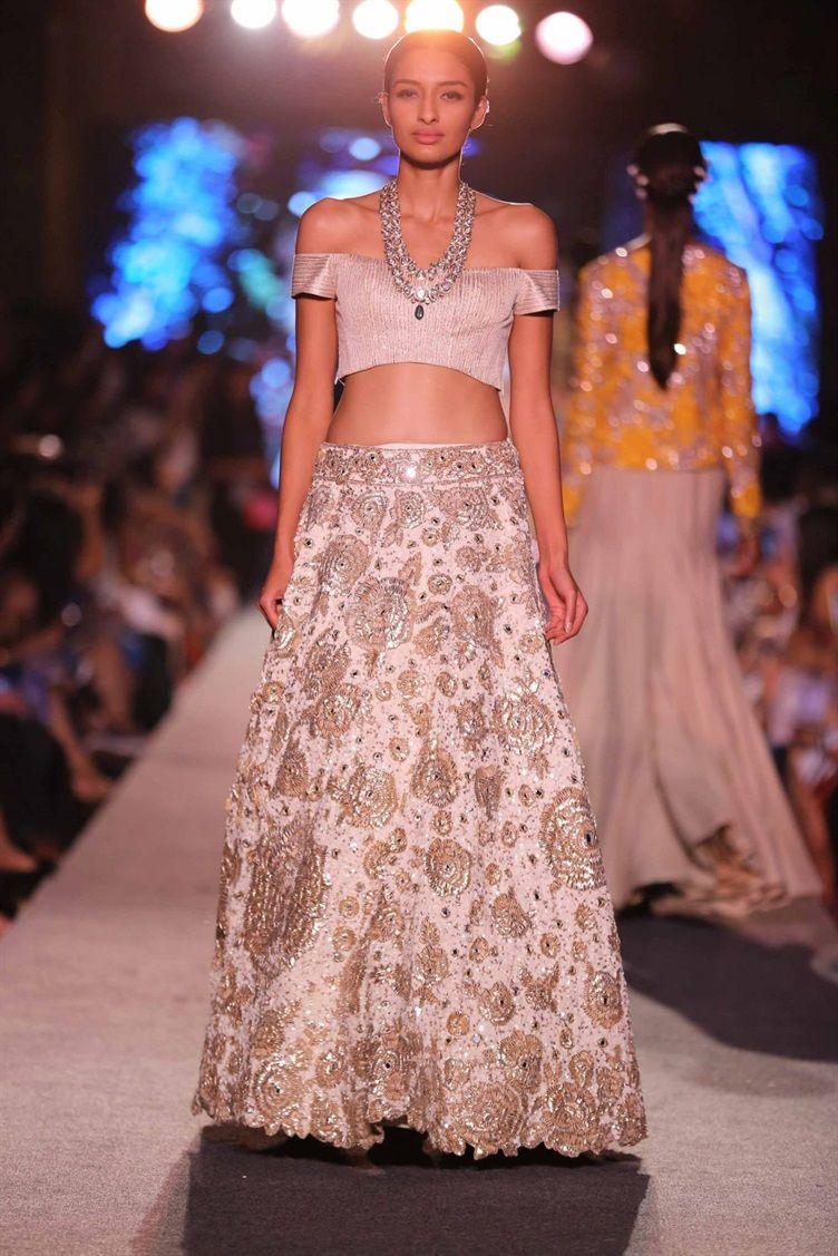Manish Malhotra\'s WEvolve Blue Collection {Lakme Fashion Week 2015 ...