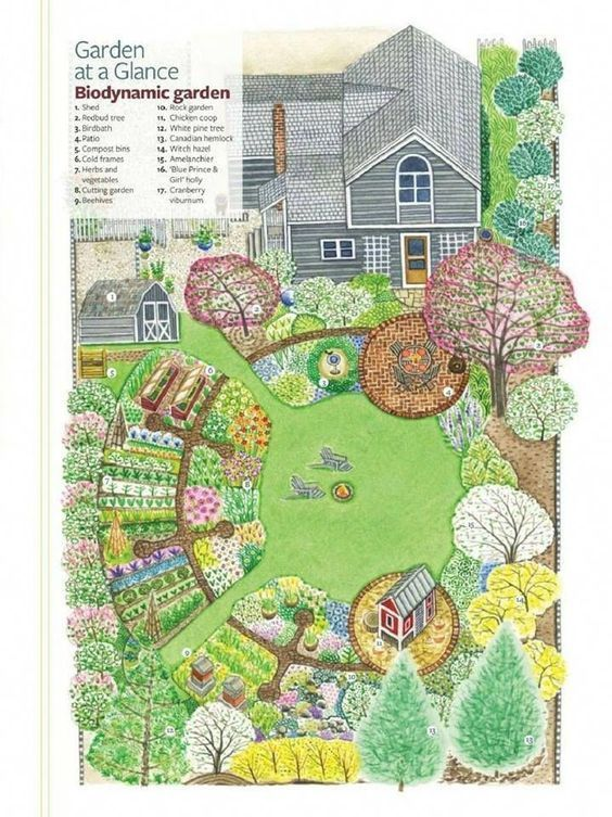 Kitchen garden designs, plans + layouts