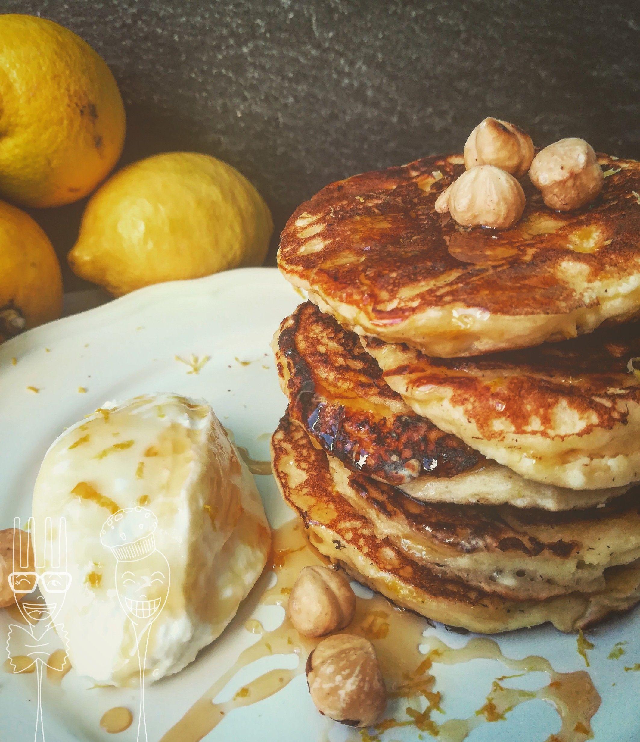 Pancakes alla ricotta e limone - er prima cosa separate i tuorli ...