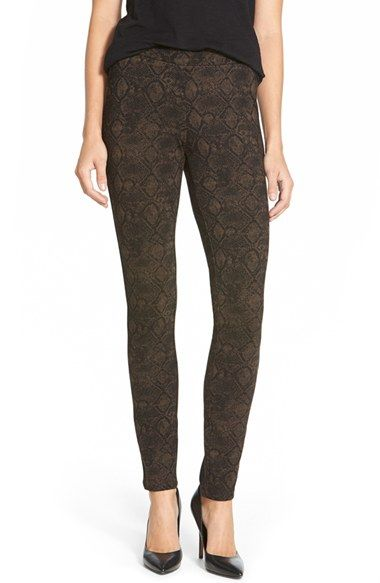 NYDJ Print Stretch Ponte Print Leggings