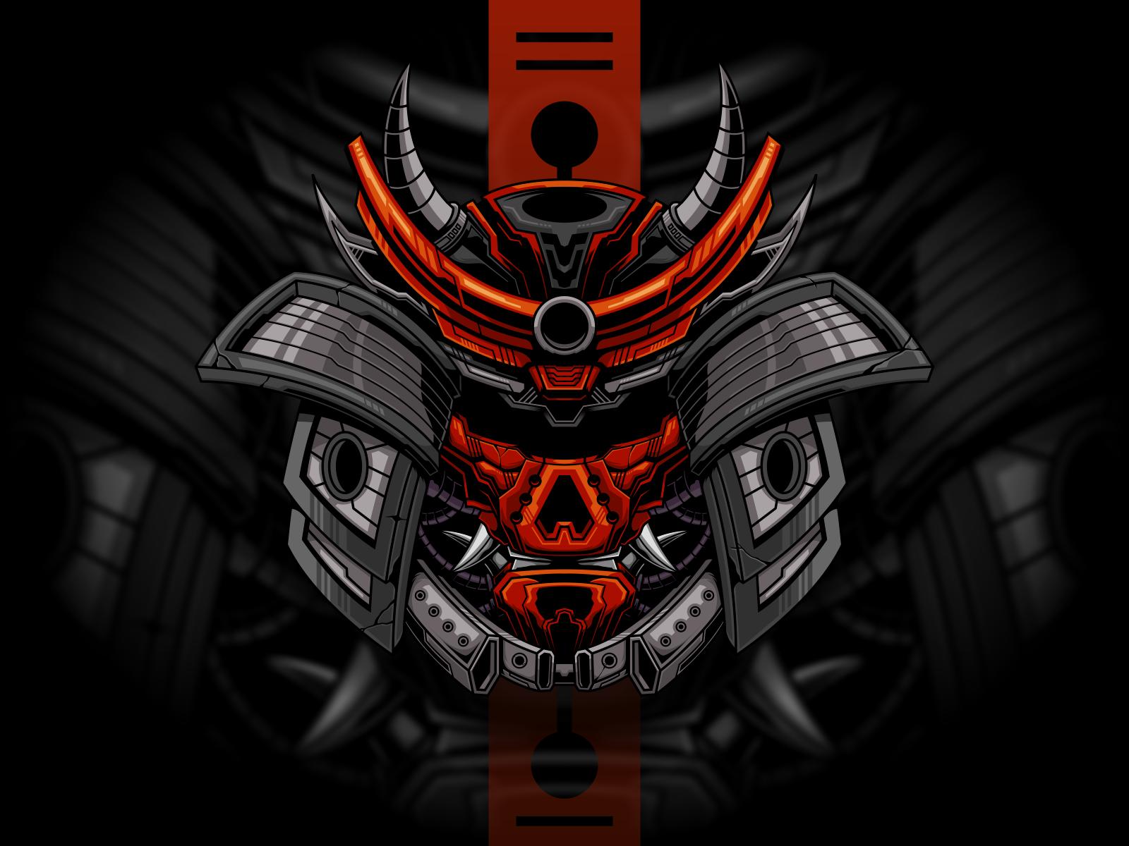 Mecha Samurai in 2020 Mecha, Samurai, Mascot