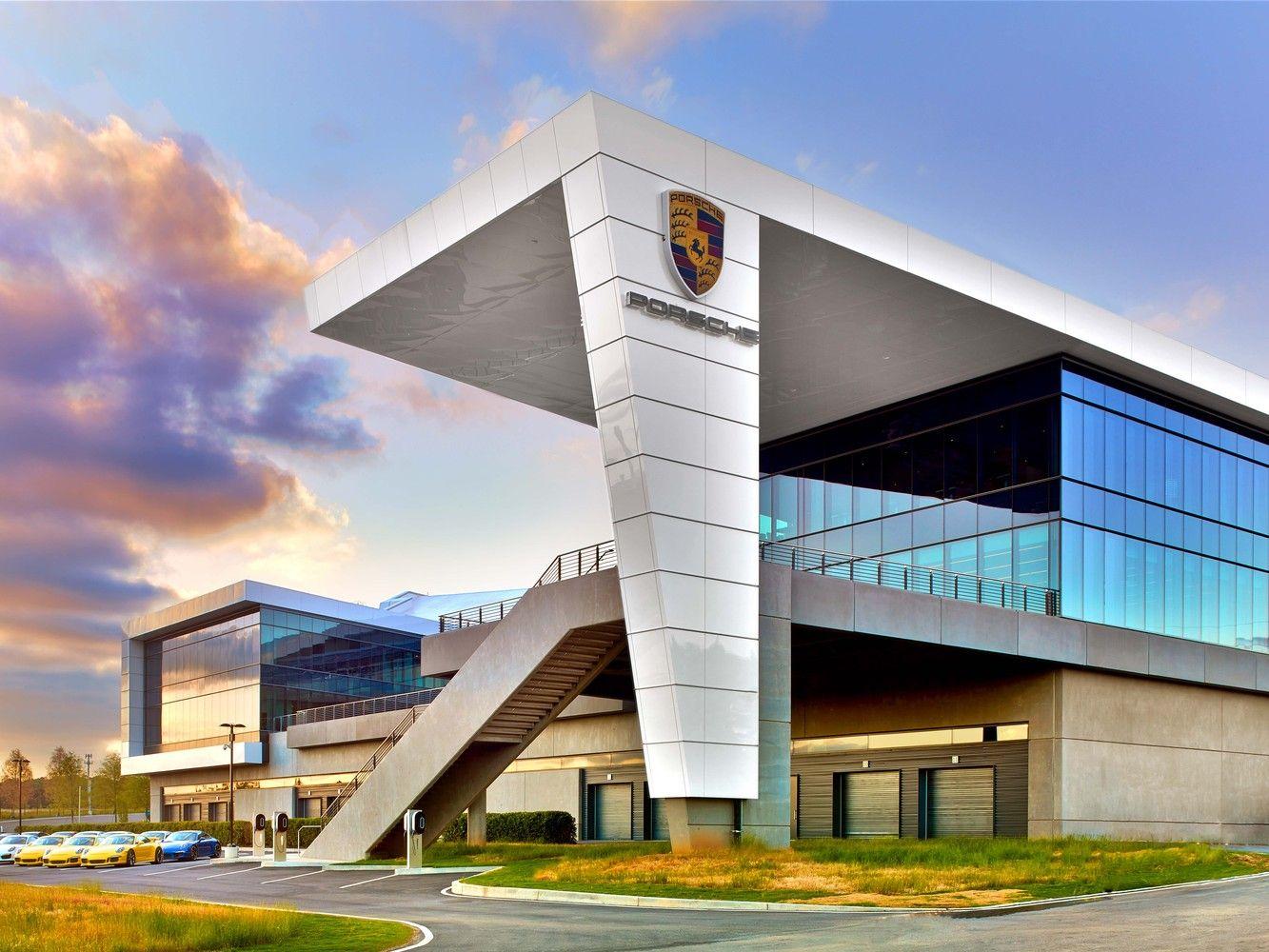 Gallery Of Porsche North America Experience Center And Headquarters Hok 6 Experience Center Porsche Experience Church Interior Design