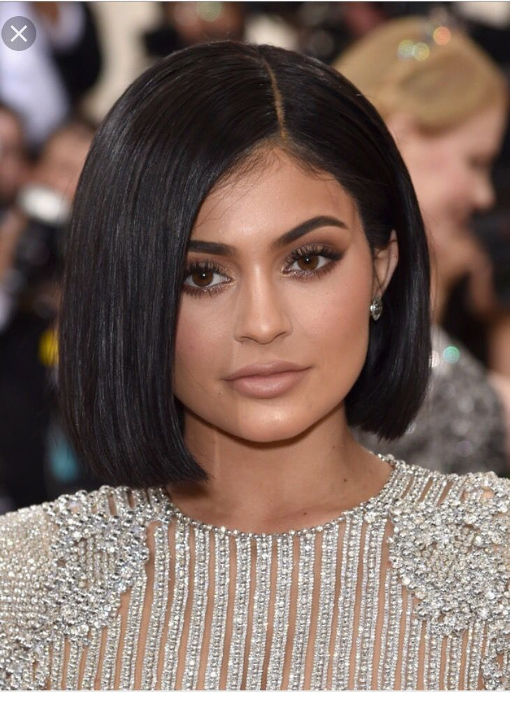 Kylie Jenner Bob Hairstyle Short Hair Dont Care Pinterest
