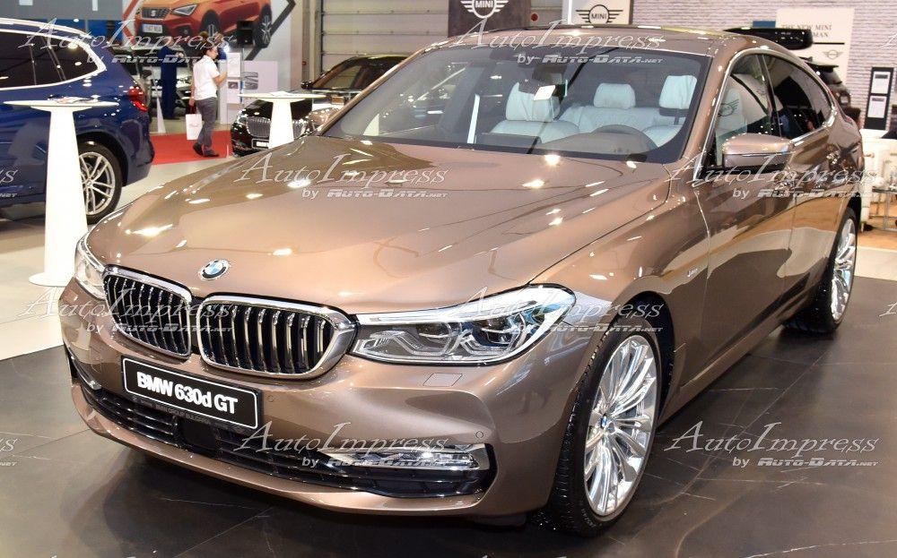 Bmw 6er Gt 630d At Sofia Motor Show 2017 Bmw Super Cars Luxury