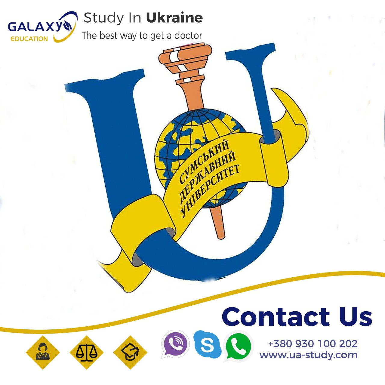 study in ukraine . . . Start your education in the Sumy