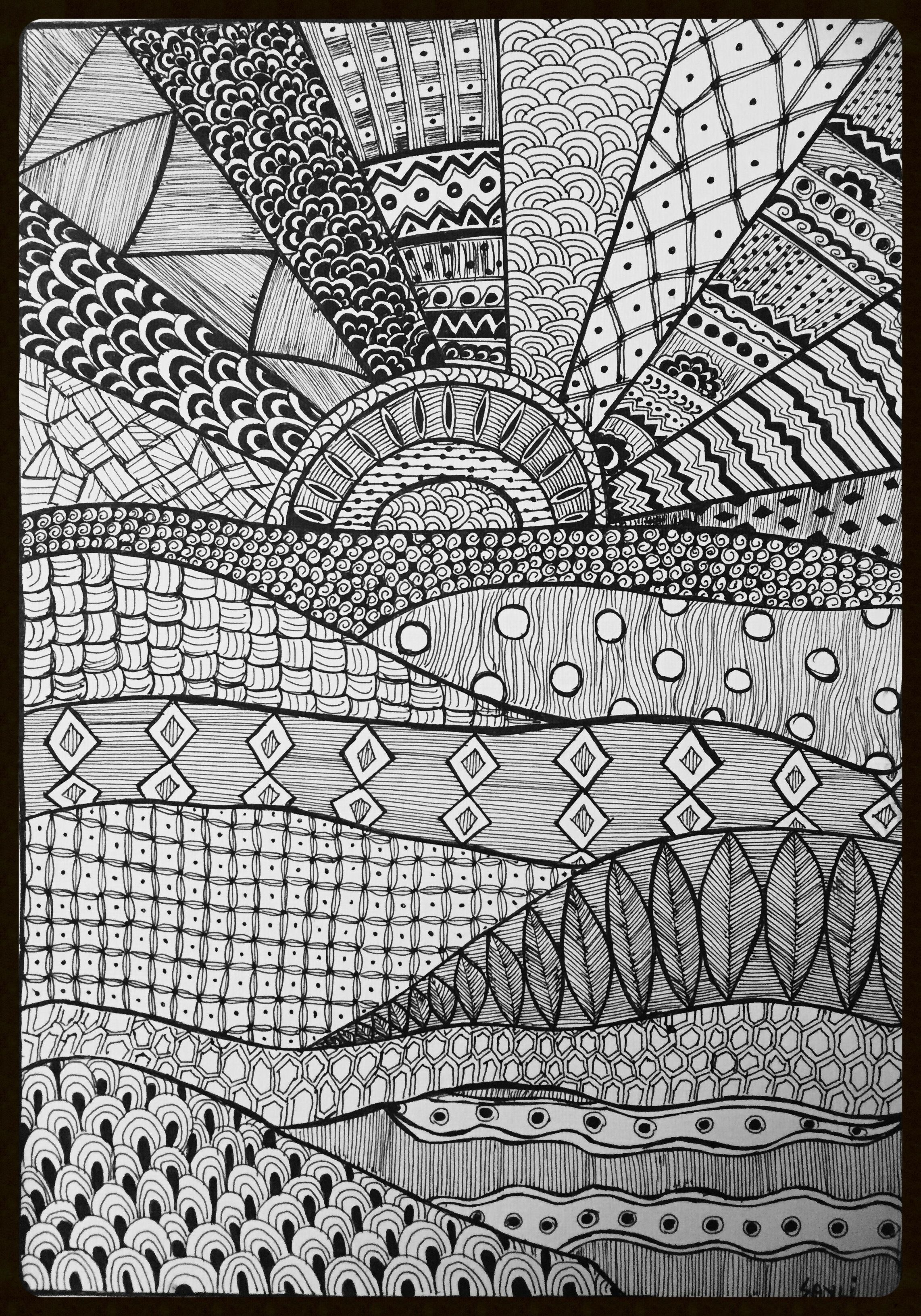 Pin By Sayli Panse On My Creations Doodle Art Doodle Art