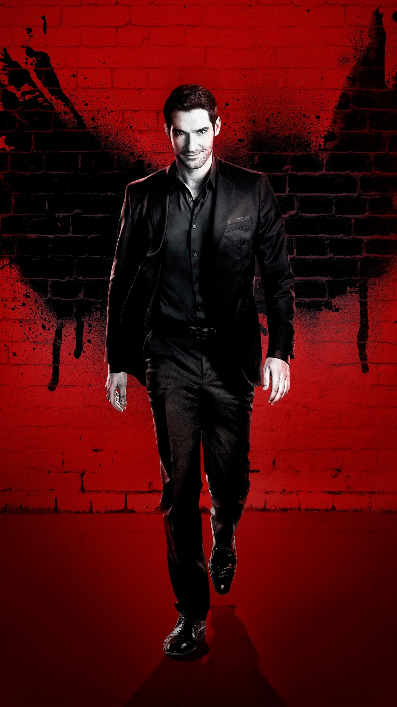 Lucifer Phone Wallpaper Moviemania Lucifer Morningstar Lucifer Tom Ellis Lucifer