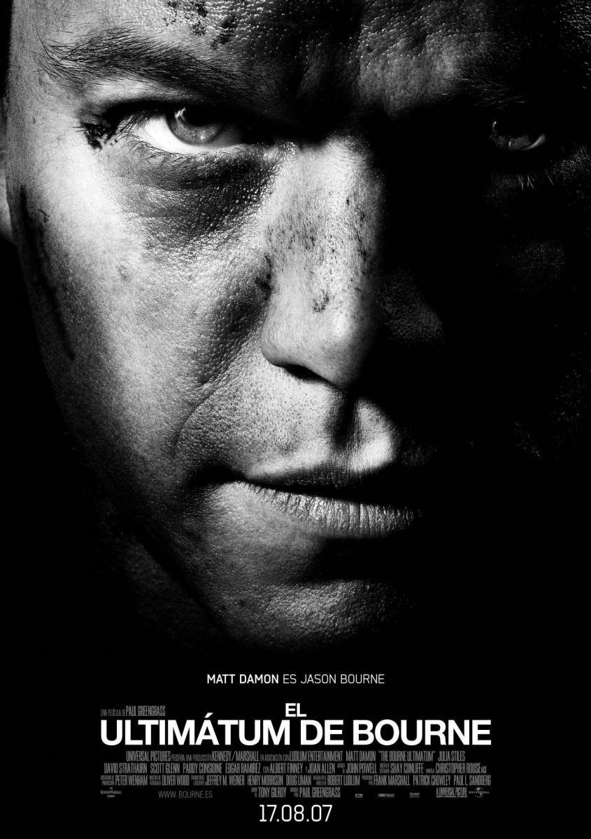 El Ultimatum De Bourne 2007 Dir Paul Greengrass El Agente Jason Bourne Sigue Investigando Quien Es El Y Que Peliculas Peliculas Completas Peliculas Cine