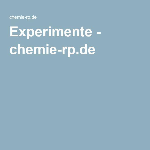 Experimente - chemie-rp.de