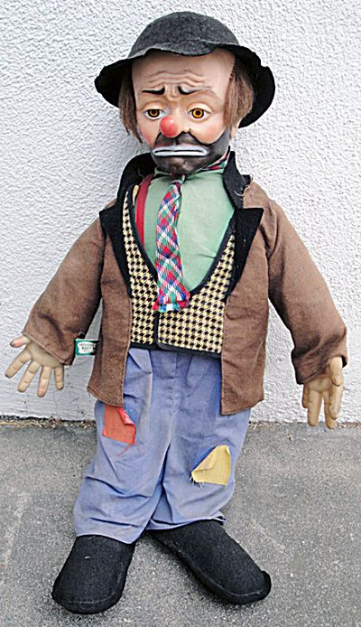 Emmett Kelly Clown Doll