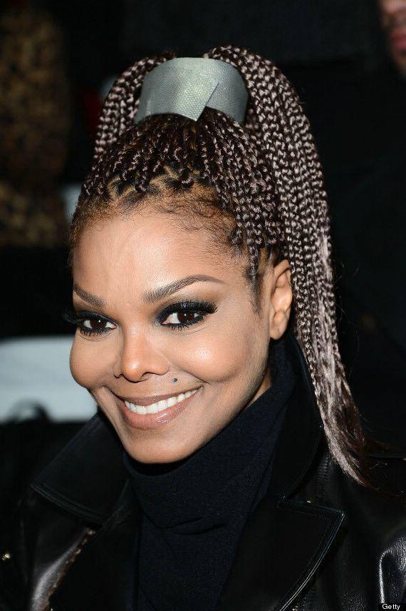 Janet Jackson Braids Hairstyles Curly Hair Pinterest Janet