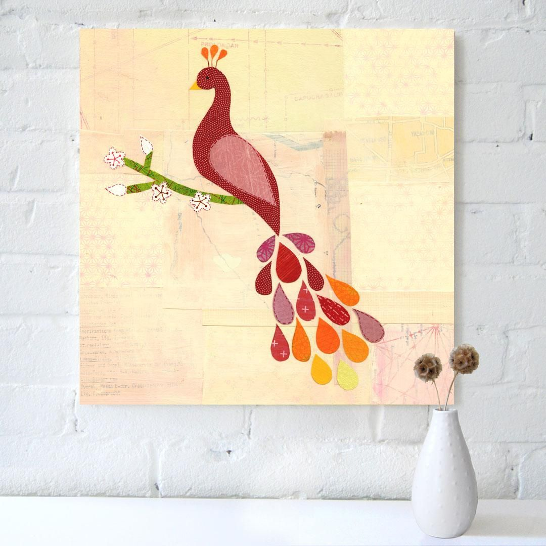 simple peacock painting | Art | Pinterest | Peacock painting