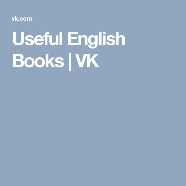 Useful English Books   VK   ESL Stuff