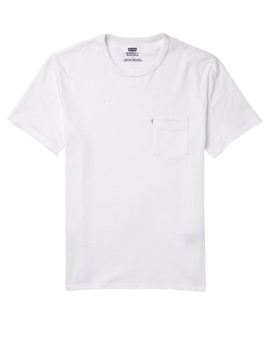 Levi 39 s sunset pocket t shirt men 39 s clothing at the idle for Pocket tee shirts for womens