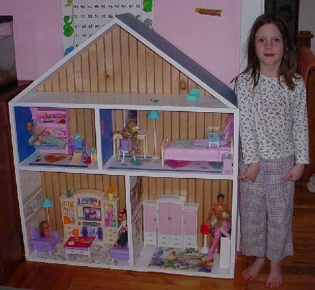 Free fashion doll house plans home design and style for Dollhouse building plans free