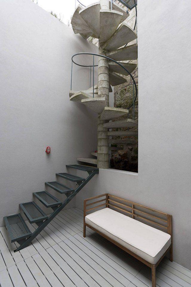 60 idées d\'escalier colimaçon pour l\'intérieur et pour l\'extérieur ...