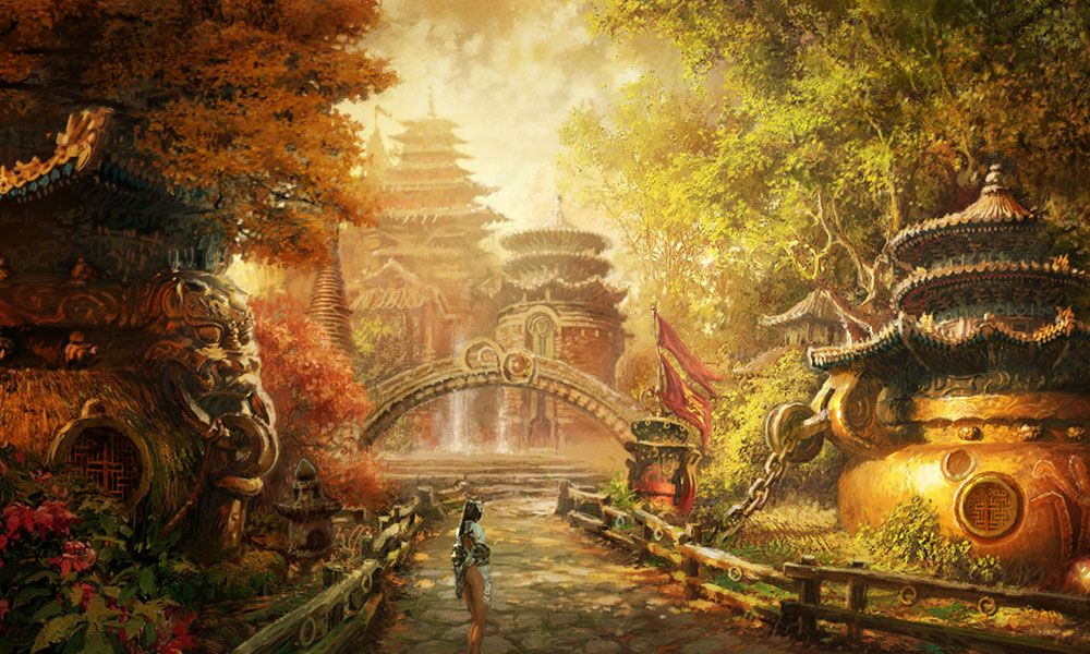 Environment Artwork Characters Art Blade Soul With Images
