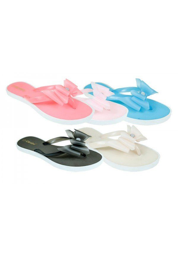 f9cc6374d WOMEN S DIAMANTE BOW JELLY FLIP FLOPS – 1Deebrand  fashion  beauty  slippers   sandals  wedges  footwear  ladies  ladiesfootwear  mensfashion   womensfashion ...