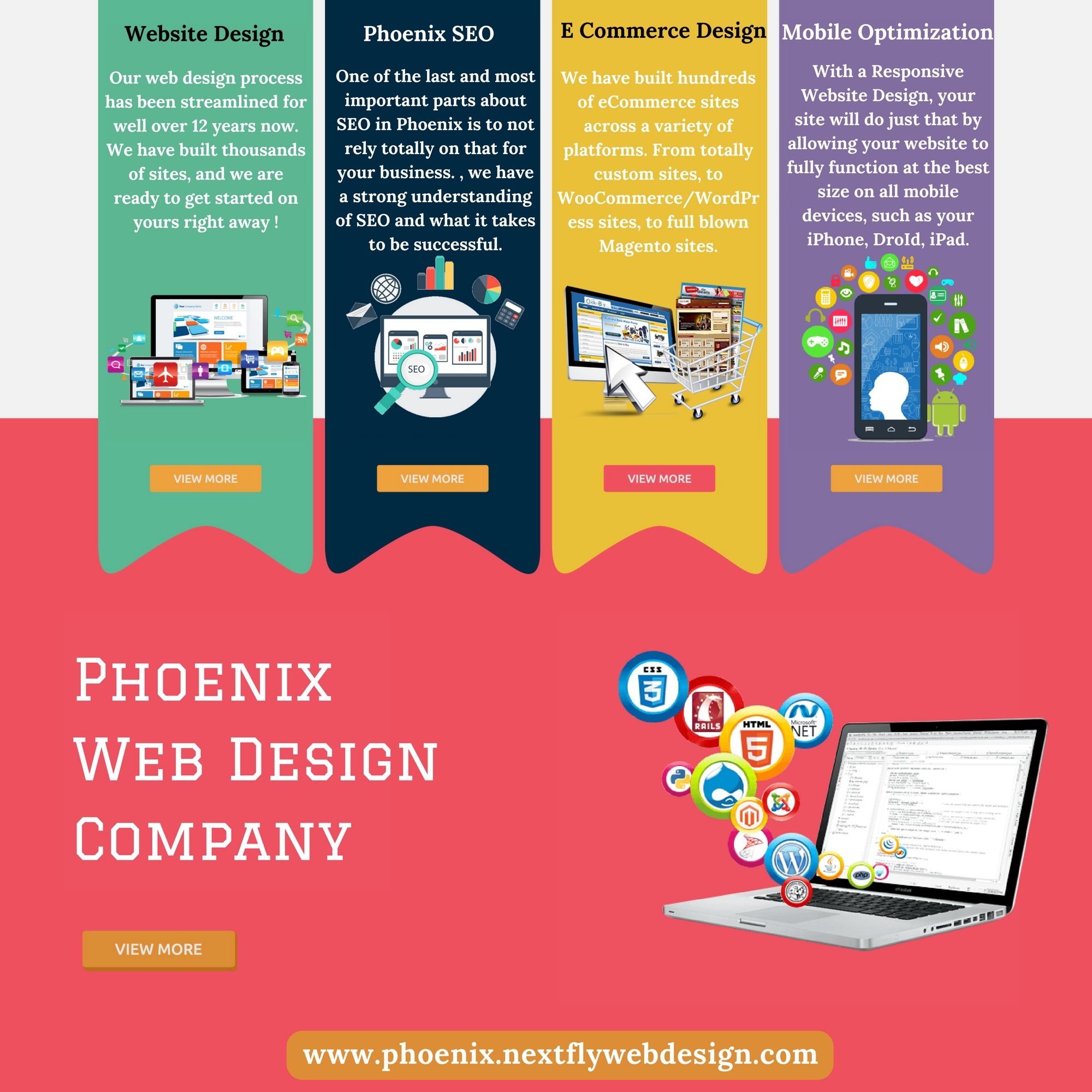Nextfly Communications Is A Phoenix Web Design Company Situated In Phoenix Arizona The Provide Q Website Design Company Quality Web Design Web Design Company
