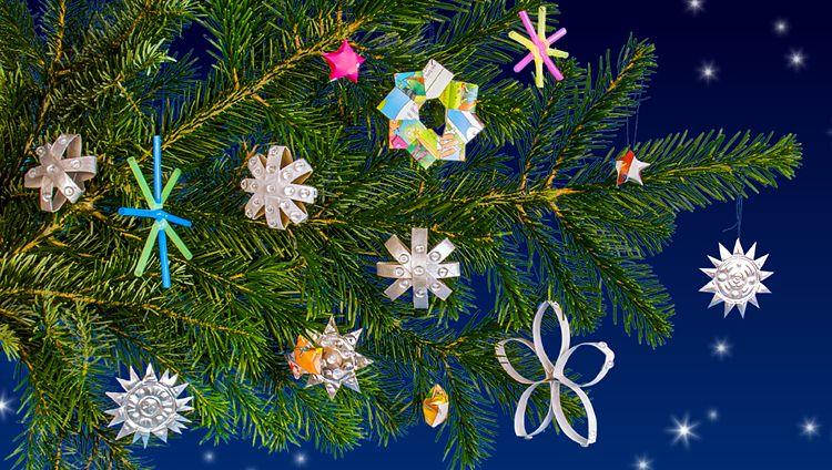 Weihnachtsbasteln Sterne Aus Goldpapier.Sternenkunde Weihnachten Sterne Basteln Goldfolie Und Basteln