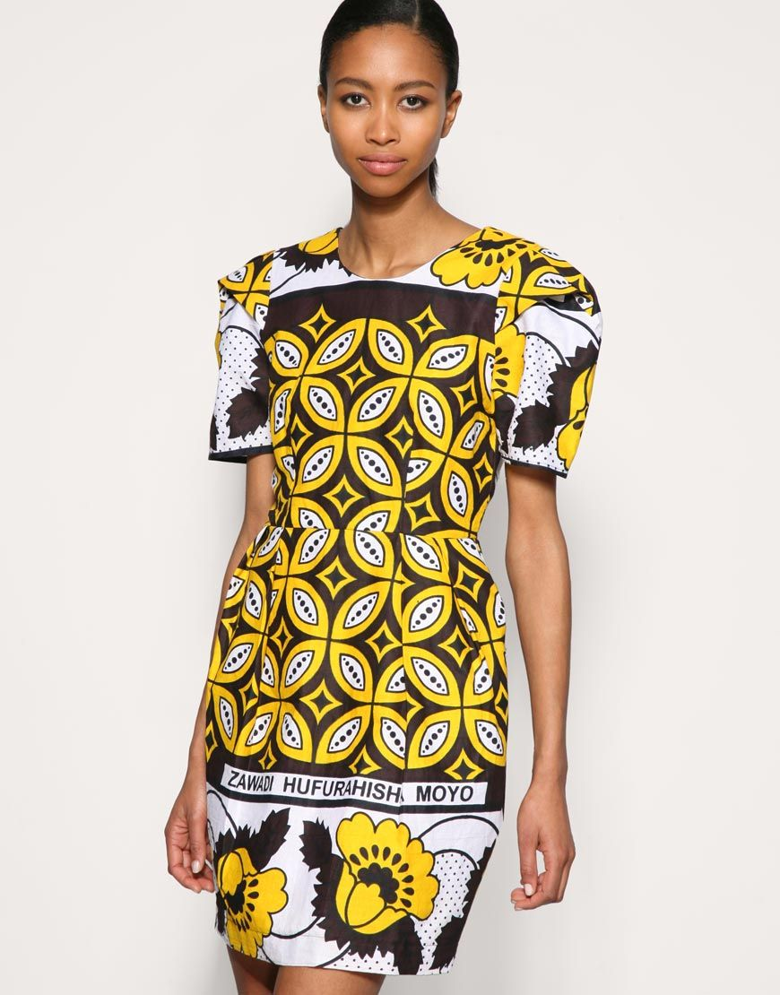 Yellow mode afro pinterest africans kitenge and african fashion