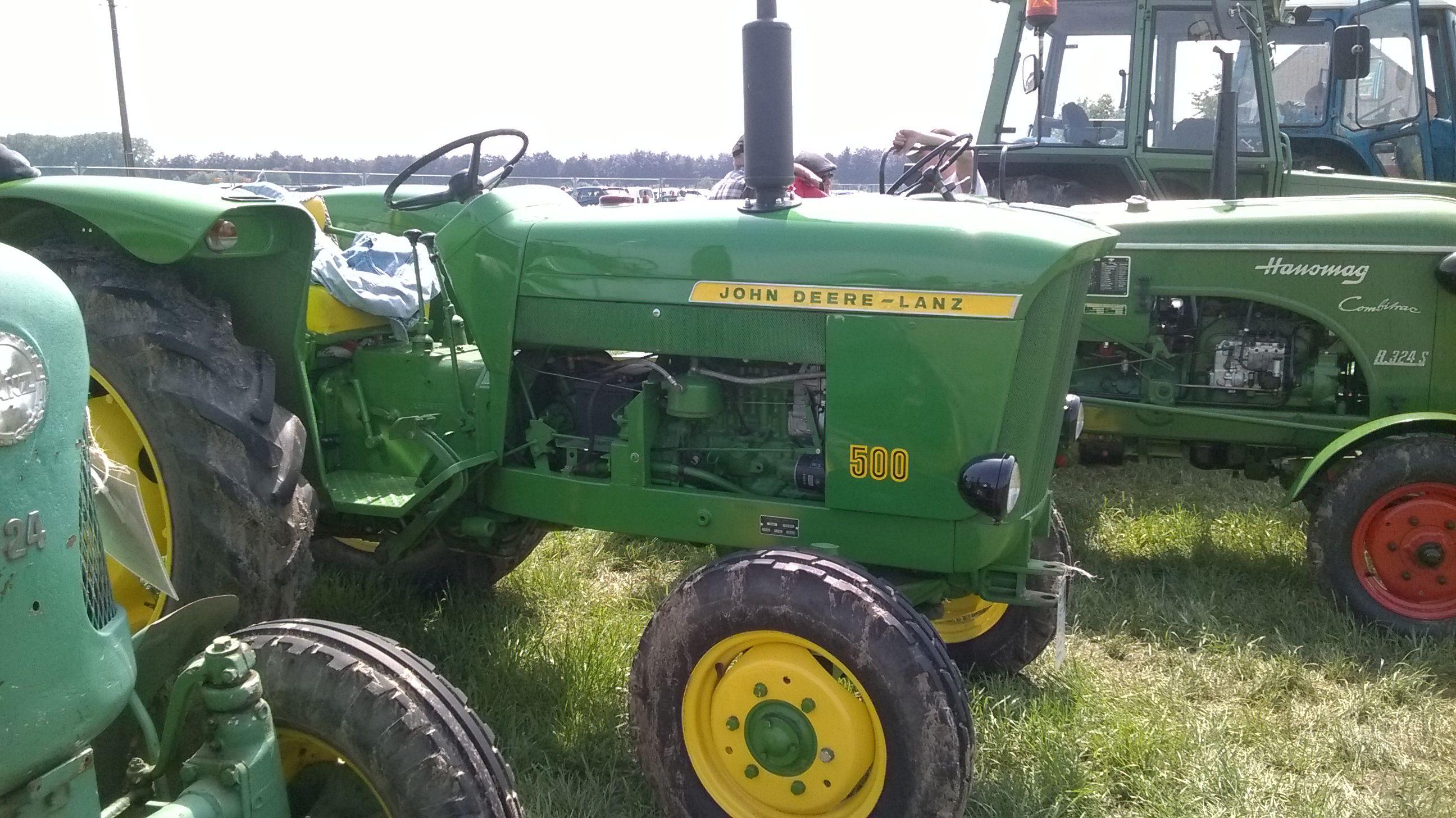 john deere - lanz 500 Mean Green, Classic Tractor, John Deere Equipment,  Seed