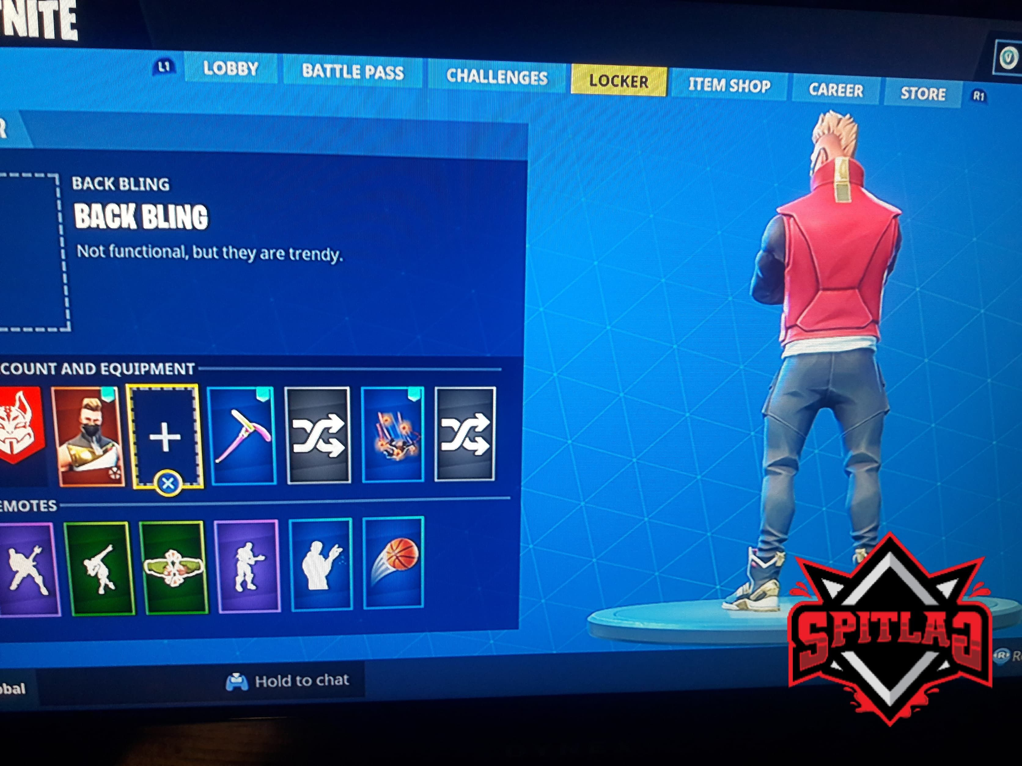 Fortnite How To Remove Back Bling Gaming Entertainment