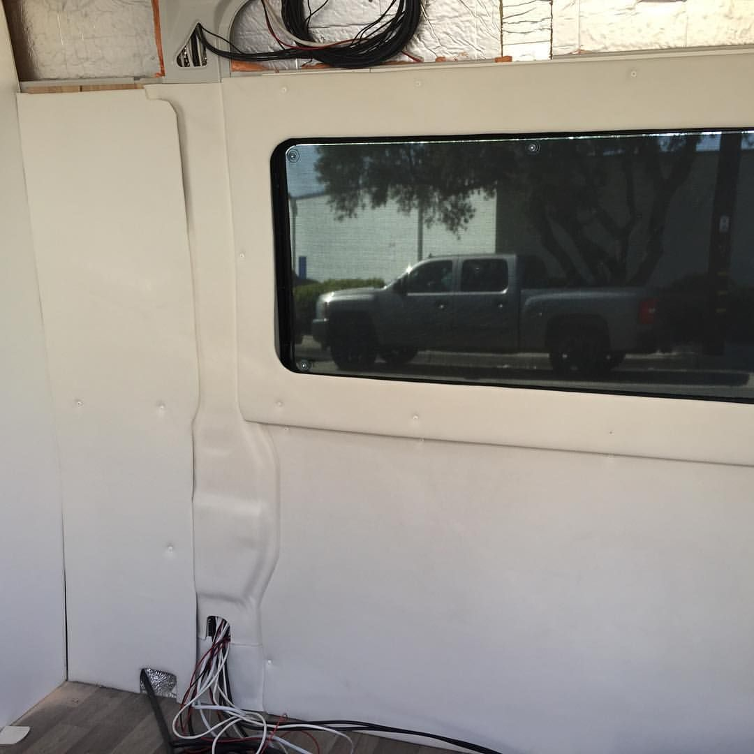 How to build wall panels for your camper van or van conversion