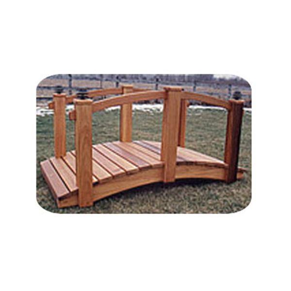 Arched Bridge Plans: Woodworking Project Paper Plan To Build 8' Arched Lawn