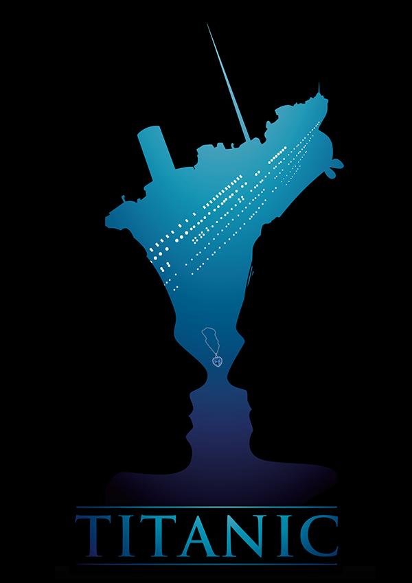 Poster Design Titanic Bokeh And Speed Art Poster Design