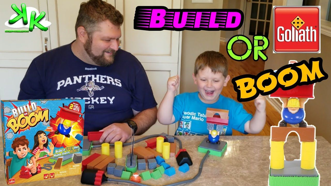 Build or Boom Goliath Games Review Build it fast or it