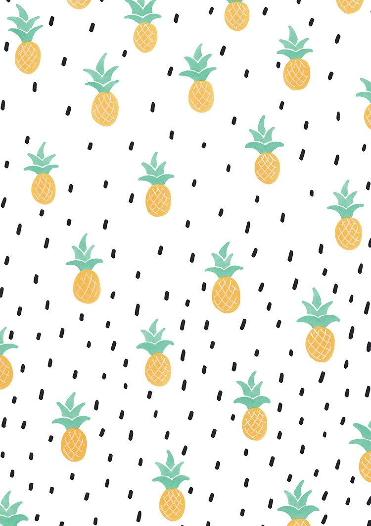 Wrap Up Your Gifts With This Printable Pineapple Design This File Contains An A4 Size Image O