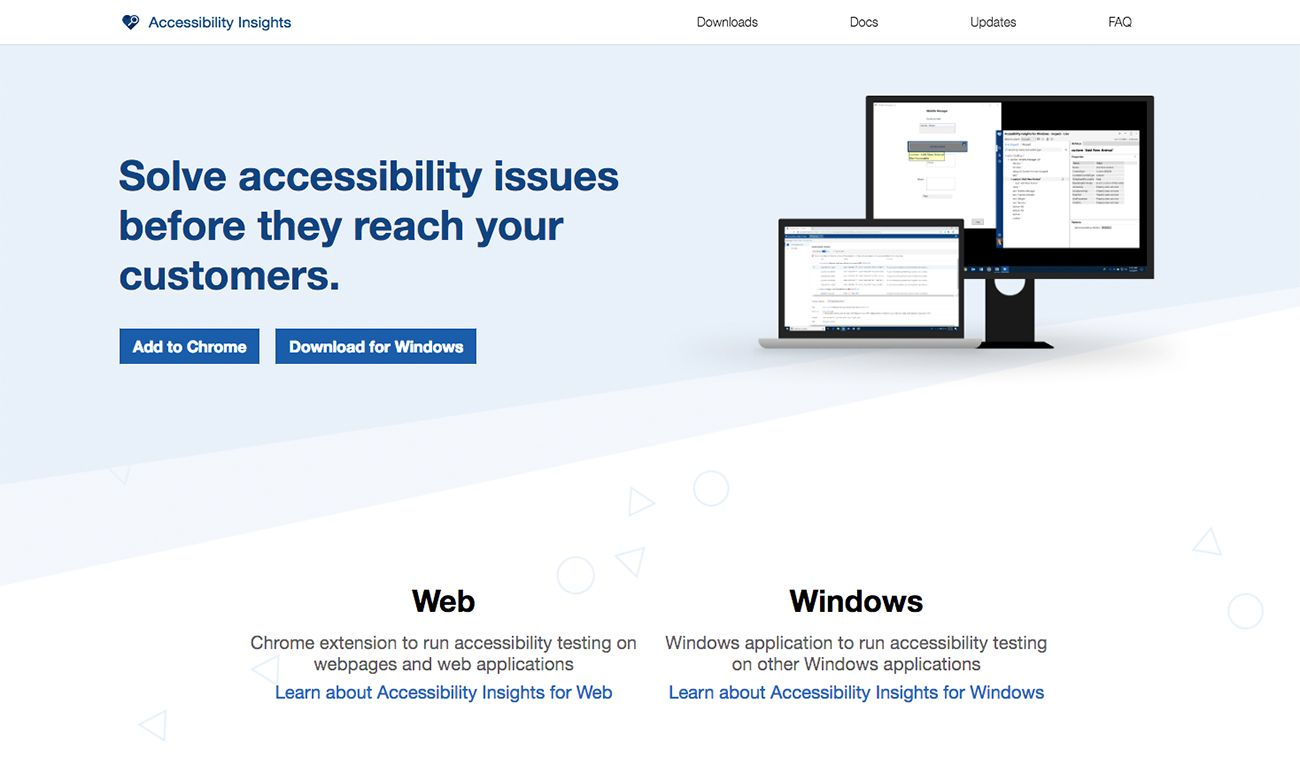 Fix Accessibility Fails With Microsoft S New Tool Web Design Tools Fails Tool Design
