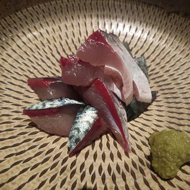 #鯖刺し #鯖が好きで好きでたまらない #鯖が刺身で食べられる環境に感謝 by tanmen1223