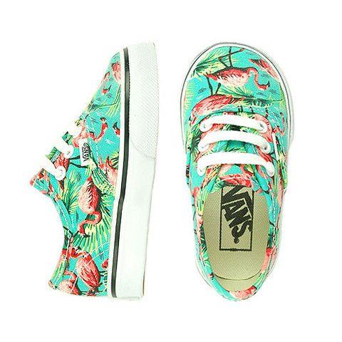 vans flamingo shoes toddler