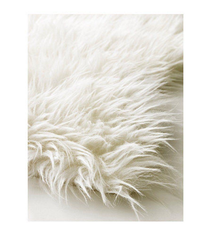 Amazon Com Ikea 302 290 77 Tejn Faux Sheepskin White Tejn Rug Faux Sheepskin Rug White Fur Rug