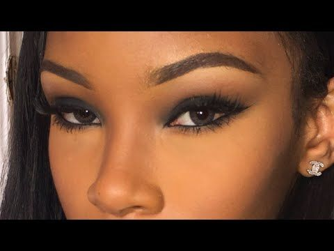 For Black Women Smokey Eyeshadow Smoky Eye Makeup Everyday Makeup