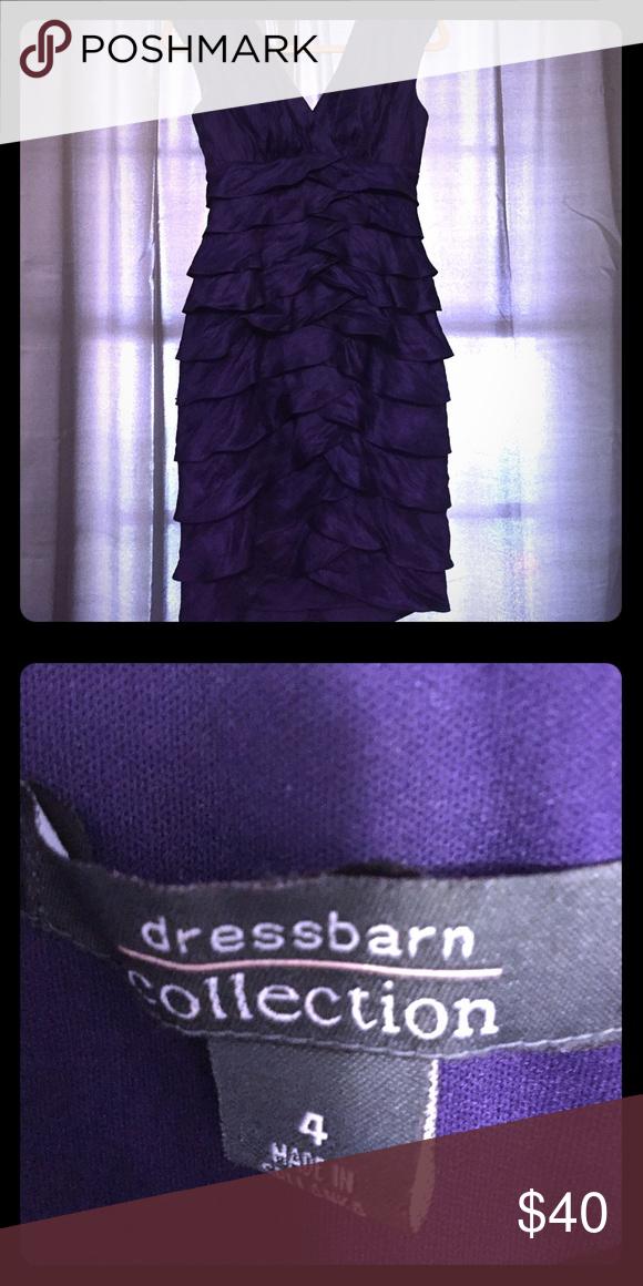 Beautiful Deep Purple cocktail dress