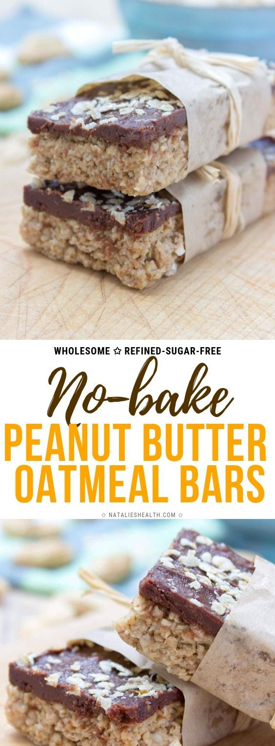 Delicious no-bake Chocolate Peanut Butter Oatmeal Bars are made with all HEALTHY stuff. These bars are vegan, refined sugar-free, packed with healthy dietary fibers and heart-healthy fats. A perfect midday bite, or post workout snack. #oatmeal #oats #recipes #healthyrecipes #breakfastrecipes #nobakebars #nobake #veganrecipes #vegan #workoutsnack #snack #proteinbar #healthysnack #hearthealthydesserts Delicious no-bake Chocolate Peanut Butter Oatmeal Bars are made with all HEALTHY stuff. These bar #peanutbuttersquares