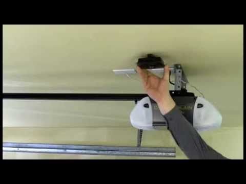 How To Install The Chamberlain Myq Garage Hardware Chamberlain Garage Door Garage Door Opener Garage