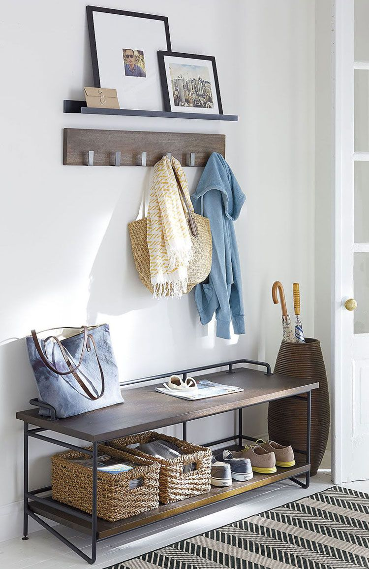 Entryway Bench And Shoe Rack