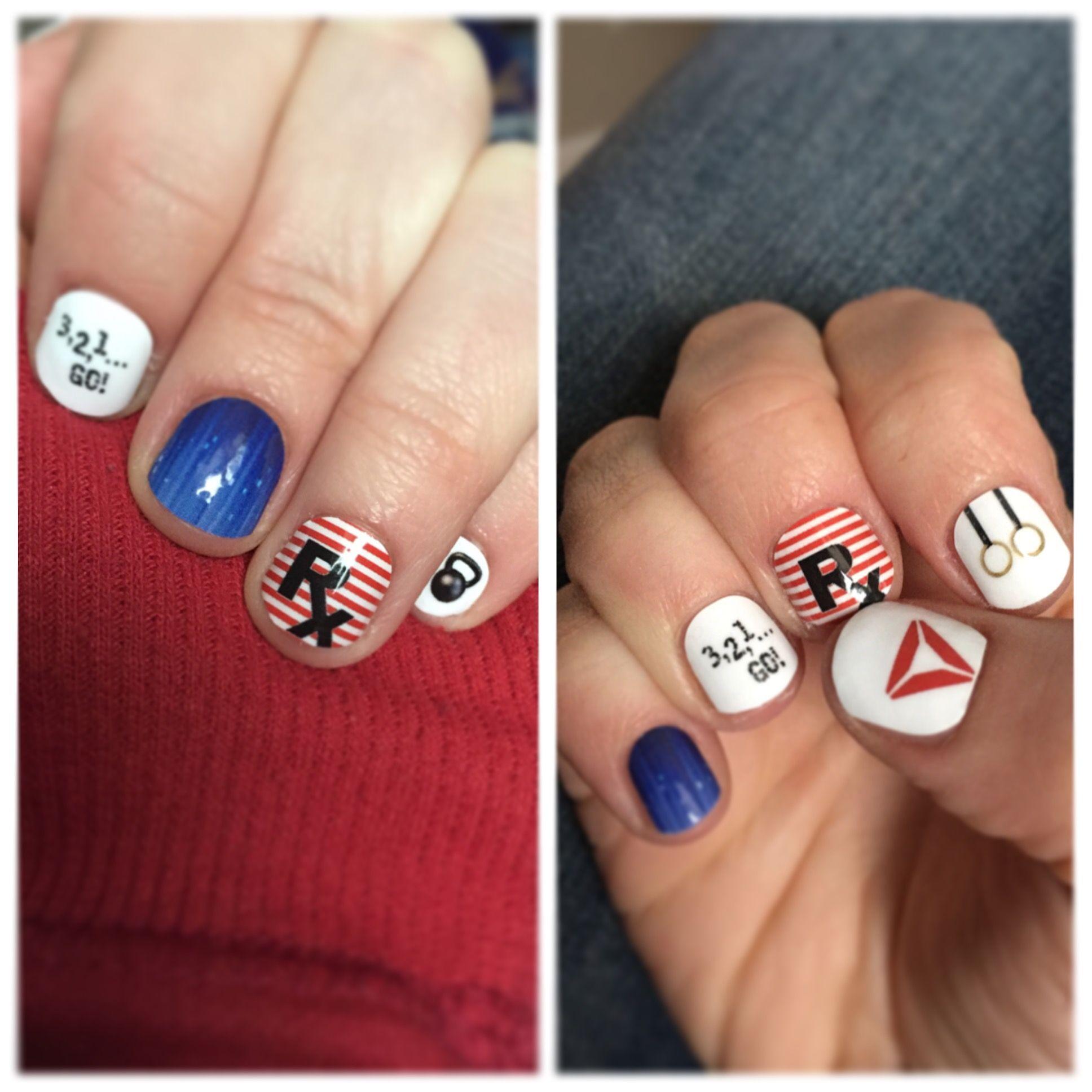 Nail Art Studio - custom Jamberry Nails - #Crossfit inspired - sossy ...