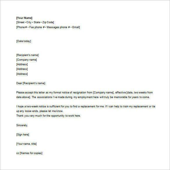 Resign Email Template Resignation Letter Template Resignation Email How To Write A Resignation Letter