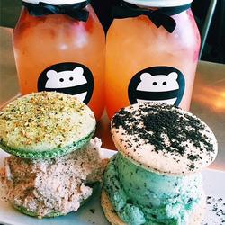 Snow Monster Mint Chip Ice Cream Food Drinks Dessert Giant Food