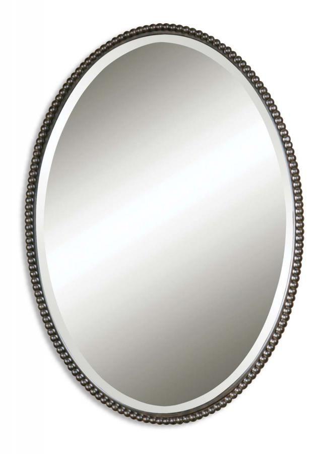 Sherise Bronze Oval Mirror Oval Mirror Bronze Mirror Mirror Oil rubbed bronze oval mirror