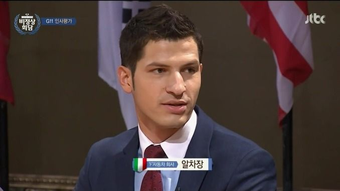 Alberto Mondi(Italy) : in Korean TV program  [비정상회담 Daum