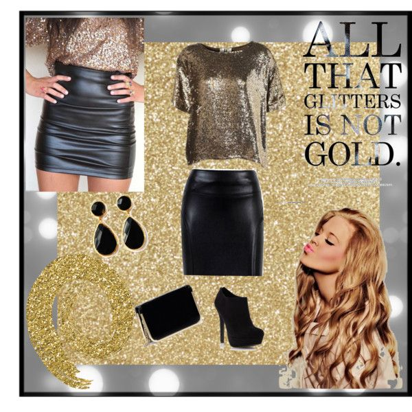 """""""all that glitters is not gold!"""" by sasha-miranda on Polyvore"""
