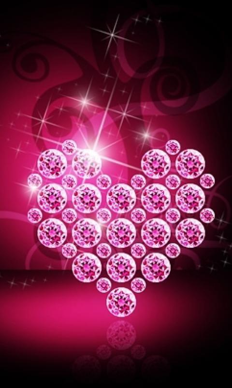 Download Free Diamonds Heart Mobile Mobile Phone Wallpaper Mobilesmspk Net Bling Wallpaper Heart Wallpaper Phone Wallpaper